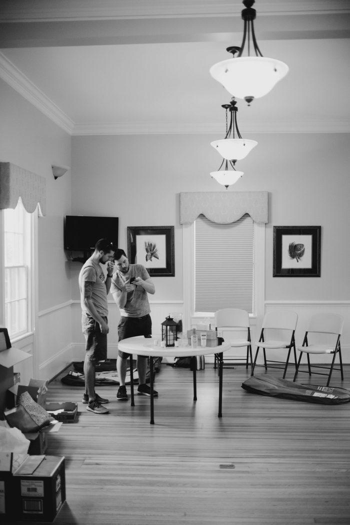 Charlotte Wedding Photographer Rand Bryan House North Carolina Wedding Rings